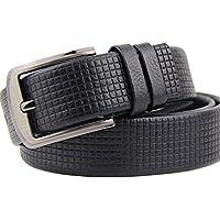 Moda business cintura nera casual pin maschile fibbia cintura