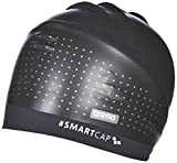 arena Unisex Badekappe Smartcap Training (Haarband, Perfekt für lange Haare, Red Dot Design Award), Black (500), M