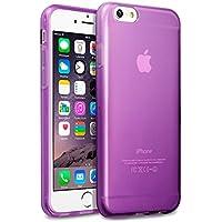 Terrapin TPU Schutzhülle Tasche Case Cover für iPhone 6S / iPhone 6 Hülle Transparent Lila