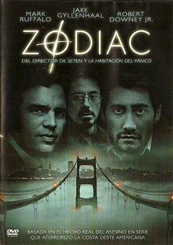 Zodiac (Import Dvd) (2007) Jake Gyllenhaal; Mark Ruffalo; Brian Cox; Anthony E