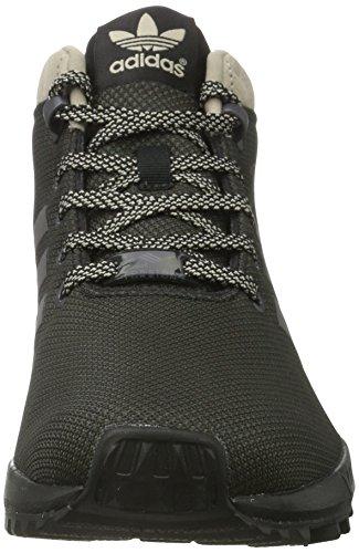 adidas Herren Zx Flux 5/8 Tr Hohe Sneaker Schwarz (Core Black/Core Black/Core Black)