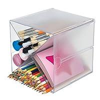 Deflecto 350201 X-Divider Cube Organiser - Crystal