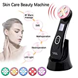 Facial Lifting Machine,LED Light Therapy Wrinkle Remover Skin Tightening Anti Aging Skin Rejuvenation