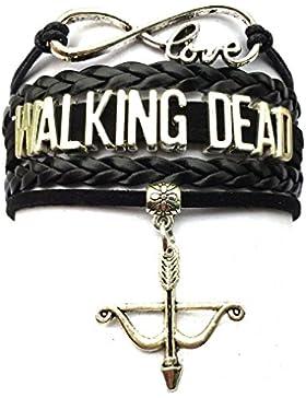 Walking Dead -Pfeil Armband und Charme Bogen