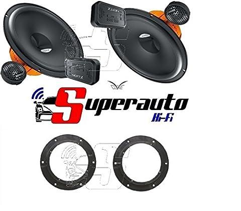 Hertz DSK 1652Way DSK165.3Speakers + Speaker Stands Skoda Octavia 07>