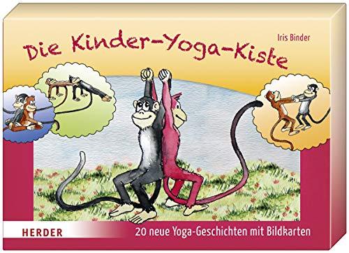 Die Kinder-Yoga-Kiste: 20 neue Yoga-Geschichten mit Bildkarten und Begleitheft -