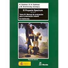El Proyecto Spectrum tomo III: Manual de evaluación para la educación infantil (Coedición Ministerio de Educación)