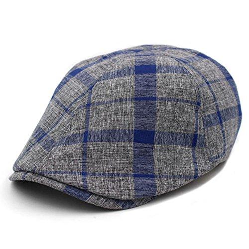 Cap/chapeau de mode marée féminine coréenne/ Au printemps et en été/ Loisirs de plein air Plaid Hat/ Beret M A