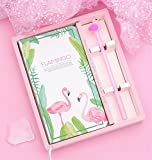 DAxixi Student Stationery Educational Supplies Filles Cadeaux Mignon Cahier de Notes de Journal de Papeterie et Jeu de Stylo (Vert)