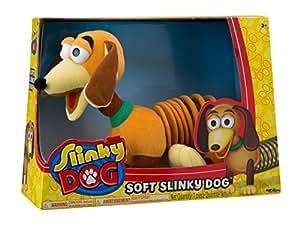 Poof-Slinky Dog 3266BL originale peluche Slinky