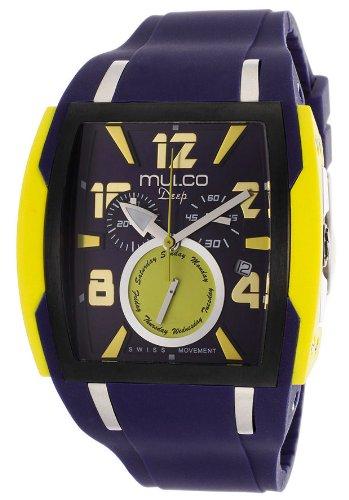 Mulco MW1–13186–049mw113186049–Wrist Watch Unisex Plastic Strap–Blue