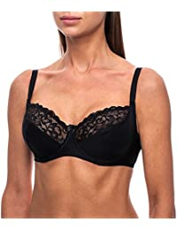 frugue Soutien-Gorge Grande Taille - Dentelle - avec Armature - Femme 74f22b22716