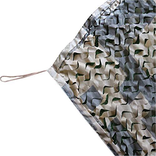 Tarnnetze mit Netzstützgitter - Woodland & Wüste Tarnnetze für Camping Schießjagd Verstecken beobachten Thematische Partydekorationen Sonnenschutznetze (Zu Behandelt Leicht Machen, Halloween)