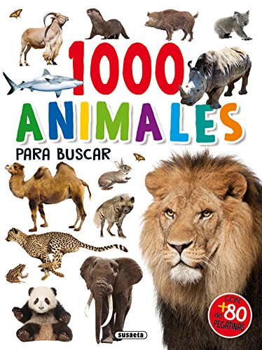 1000 Animales para buscar (1000 pegatinas para buscar) por Susaeta Ediciones S A