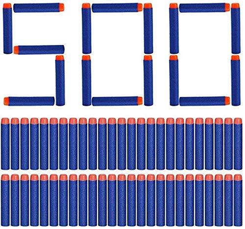 Yosoo® - Carga de 500dardos de 7,2 cm para pistola lanzadardos Nerf Elite