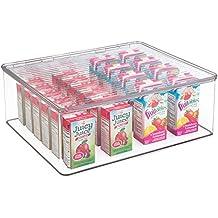 mDesign - Rain - Dosificador de vasitos descartables, para mesada del cuarto de baño -