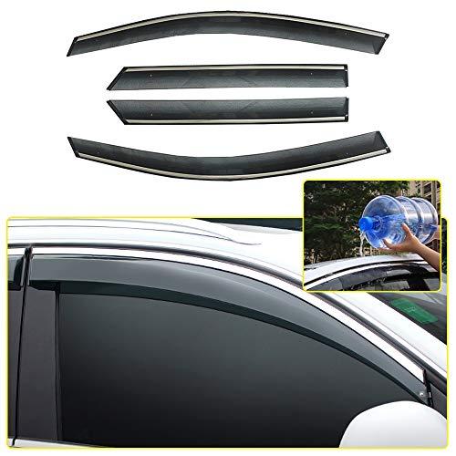 8X-SPEED AutoFenster Visier Für Q5 2010-2018 Windabweiser Regenabweiser Sonnenschutz Entlüftung Deflector 4 Stücke Auto Styling