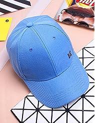 Outdoor Fashion Retro Summer Baseball Adjustable Cap Sunscreen Hat Girl (9 couleurs en option)