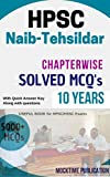 #10: HPSC Naib-Tehsildar Chapterwise and Topicwise Solved Book: Naib-Tehsildar Chapterwise and Topicwise Solved Book is important for upcoming all HPSC/HSSC exams. (Hindi Edition)