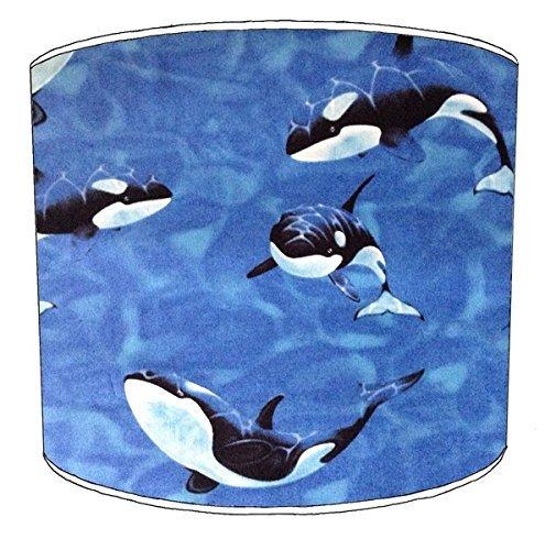 20,5cm Decke killer whale orca print Lampenschirme 4 -