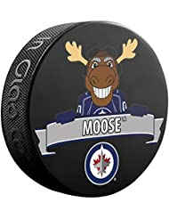 Winnipeg Jets Team Mascot NHL Souvenir Puck