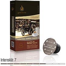 Gourmesso - cápsulas de café para cafetera Nespresso ® - 10 cápsulas de café compatibles (0,30 EUR/Cápsula) Colombia Arabica Mezzo (Intensidad 7)