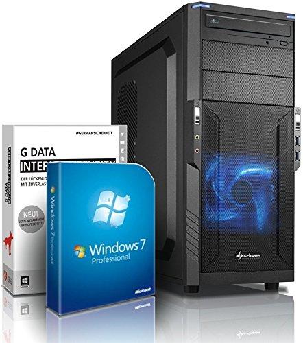 Ultra i7 Gaming-PC Computer i7 4790 4x4.0 GHz - GeForce GTX970 4GB DDR5-16GB DDR3 1600-1TB HDD - Windows7 - DVD RW - USB 3.0 - Gamer-PC #4789