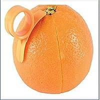 Newin Star 2 x Naranja abridor Peeler Slicer Cortador de plástico Limón de los agrios removedor de la Piel