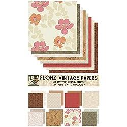 Victorian Patterns FLONZ Vintage Paper
