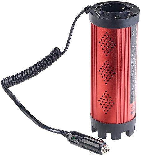 revolt Kfz-Spannungswandler 150 W, 230 V AC, 5 V USB, Peakpower 300 W