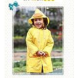 HuntGold Süß Kinder Jungen Mädchen Regen Mantel Outwear mit Kapuze