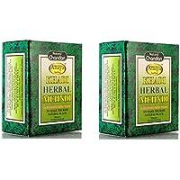 Khadi Natural Sudha Ayurveda Herbal Black Mehndi, 100g (Pack of 2)