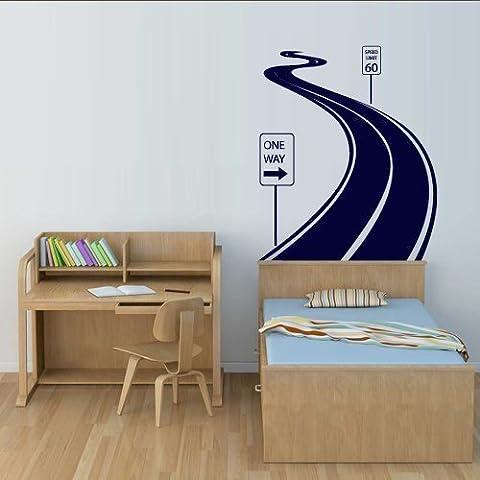 Wall Decal Vinyl Sticker Decals Art Decor Design Road Track Car Band Traffic Sign Nursery (Adesivo Star Shapes)