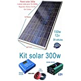 Kit Solar 1500w Placa Solar-Panel solar Fotovoltaico Polycrystalline 36 Células