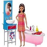 Barbie Salle de bain - poupée