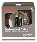 Kirlin IWB201-6BR Premium Plus Câble jack pour Instrument Rouge