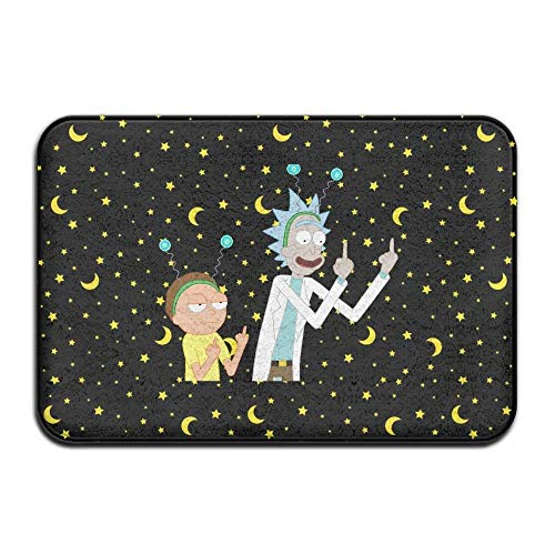 Rick-and-Morty Non-Slip Entrance Indoor/Outdoor/Front Door/Bathroom Ma