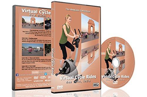 Virtuelle Fahrradstrecken – Neu-Delhi, Indien für Indoor Cycling Laufband und Lauf Workouts