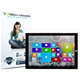 """Surface Pro 3 Screen Protector, Tech Armor High Definition HD-Clear Microsoft Surface Pro 3 (2014)[Not 10.1""""] Screen Protector [2-Pack]"""