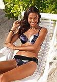 Bruno Banani Push Up Bikini, lila-bunt (36/A-Cup)