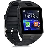 E-Quick M9 Bluetooth Smart Watches For Men Boys Girls Smartwatch With Camera & SIM Card Support Compatible With IPhone Samsung Xiomi Redmi And All Mobile.(Black)