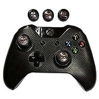 6amLifestyle Soft Silikon Daumengriffe Joystick Schutzhüllen Gehäuse Daumen Griff Cover für Xbox One/360 Spielcontroller, 2 in 1 Set