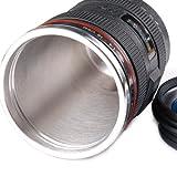 MFEIR® Kamera-Kaffeetasse Camera Lens Mug Lens Coffee Cup Objektiv Camera Lens-Becher Trinkbecher in Kameraobjektiv Form für Kaffee, Milch, Wasser -