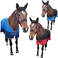 Two Tone Soft Horse Fleece Cooler Show Travel Stable Rug AND Tigerbox® Antibacterial Pen!