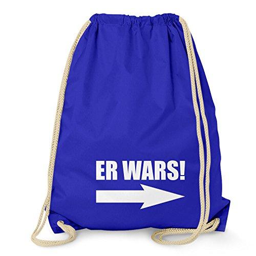 NERDO - Er wars! - Turnbeutel, (Gay Marine Kostüm)