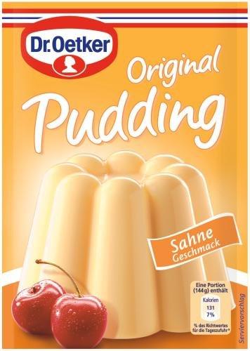 Dr. Oetker Original Pudding Sahne, (3 x 37 g)