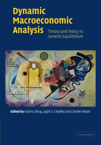 Dynamic Macroeconomic Analysis Paperback: Theory and Policy in General Equilibrium por Altug