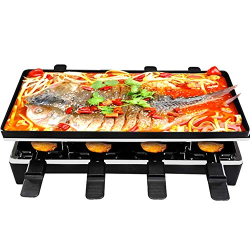 Raclette Grills 10 Person | 8 Mini sartenes Queso