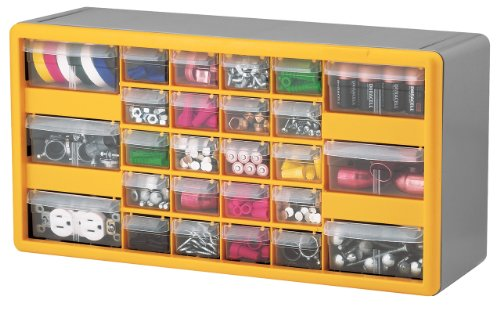 AKRO MILS INC 26-DRAWER SMALL PARTS STORAGE CABINET