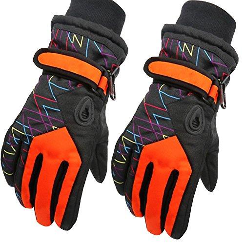 a28446aeb78255 Kinder Skifahren Handschuhe Skihandschuhe Kinder Schnee Handschuhe Outdoor  Handschuhe Sport Handschuhe Winter Handschuhe,Rot